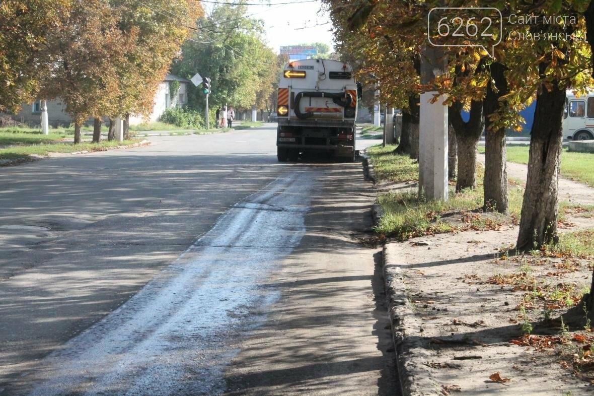 Пылесос наводит порядок на улицах Славянска, фото-3