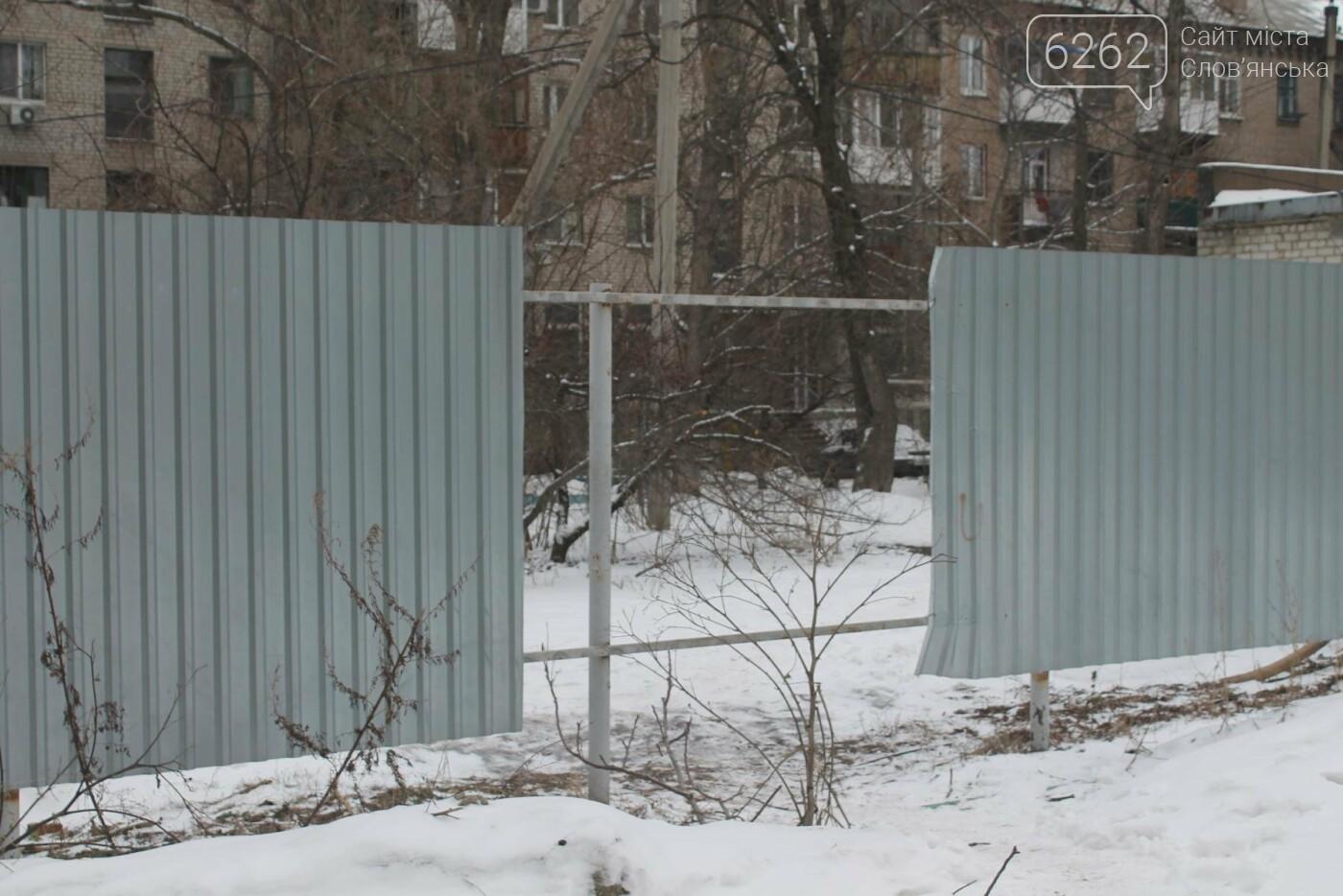 Вход в недострой в центре Славянска планируют заложить кирпичом , фото-2