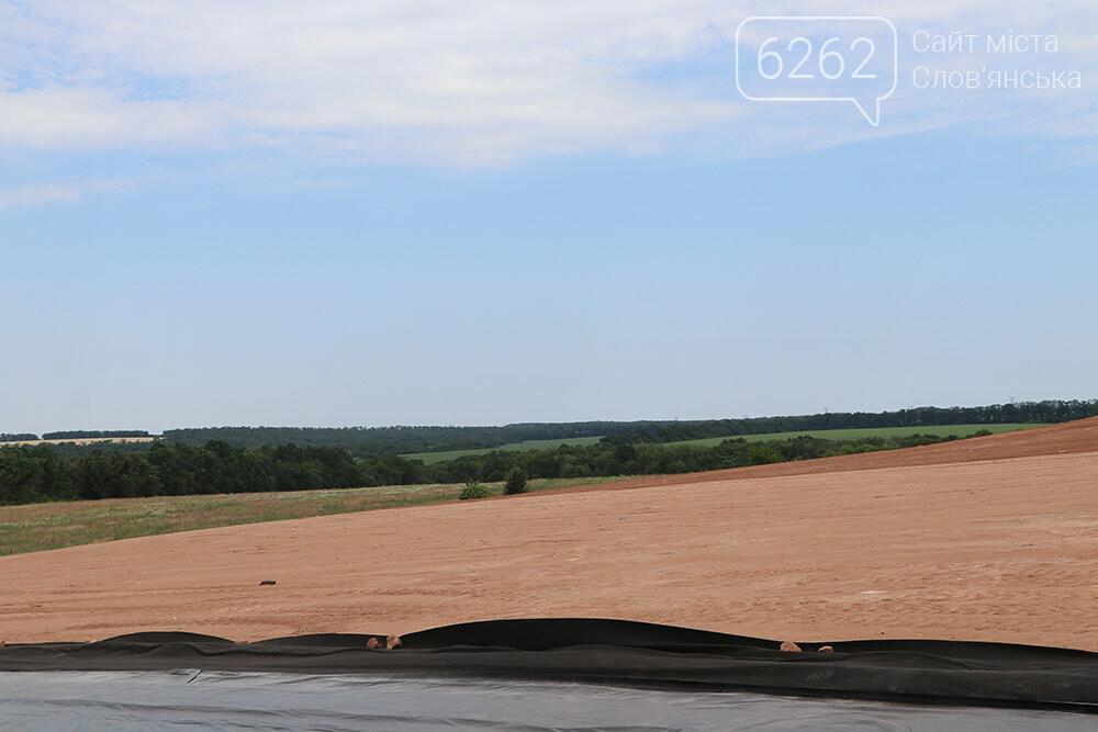 В Славянске проходит рекультивация мусорного полигона, фото-8