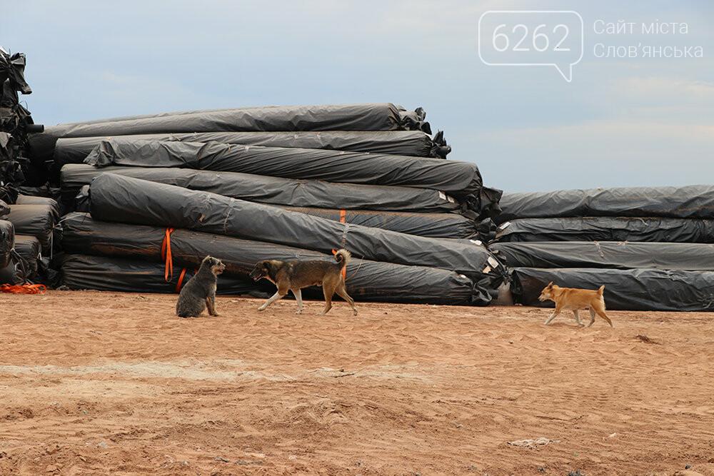 В Славянске проходит рекультивация мусорного полигона, фото-11
