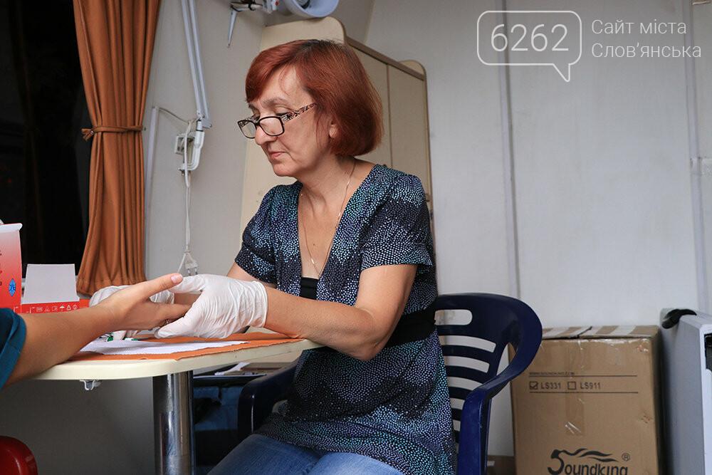 На площади Славянска предлагают пройти бесплатный тест на вирусный гепатит, фото-2