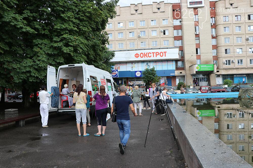 На площади Славянска предлагают пройти бесплатный тест на вирусный гепатит, фото-4