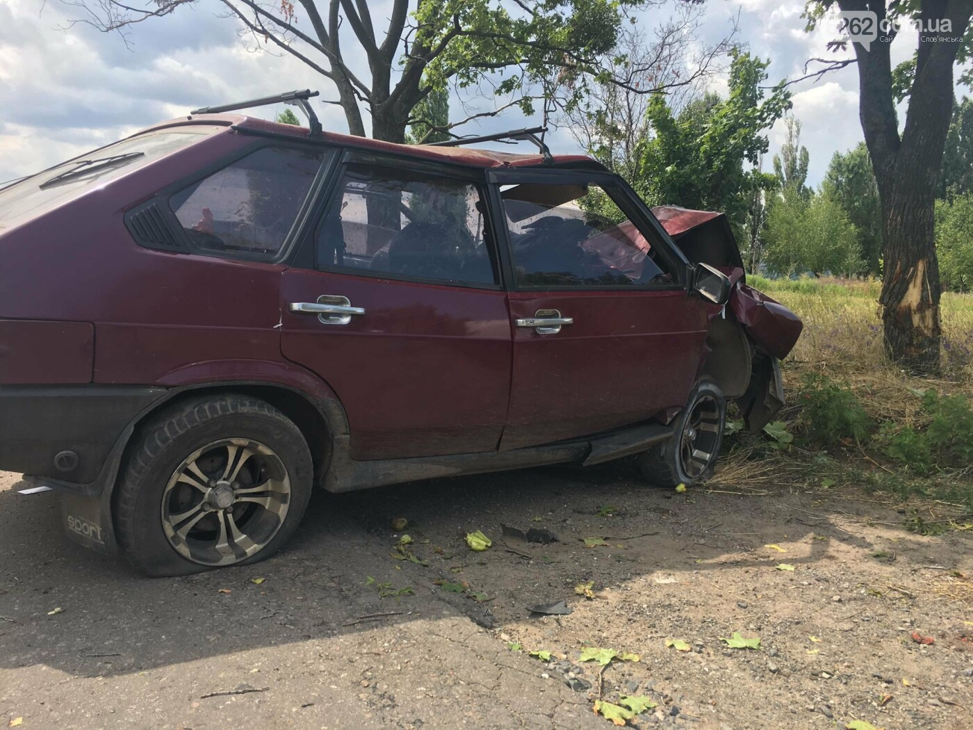 В Славянске произошло очередное ДТП с пострадавшими, фото-1