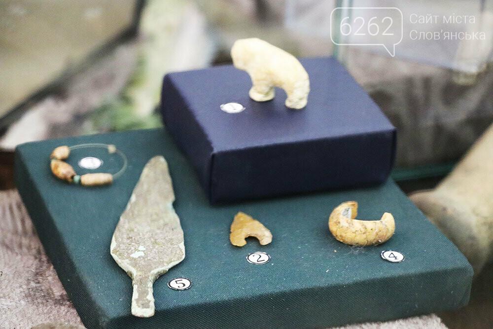 Знаряддя Палеоліту та язичницькі амулети: унікальна виставка у музеї Слов'янська, фото-9