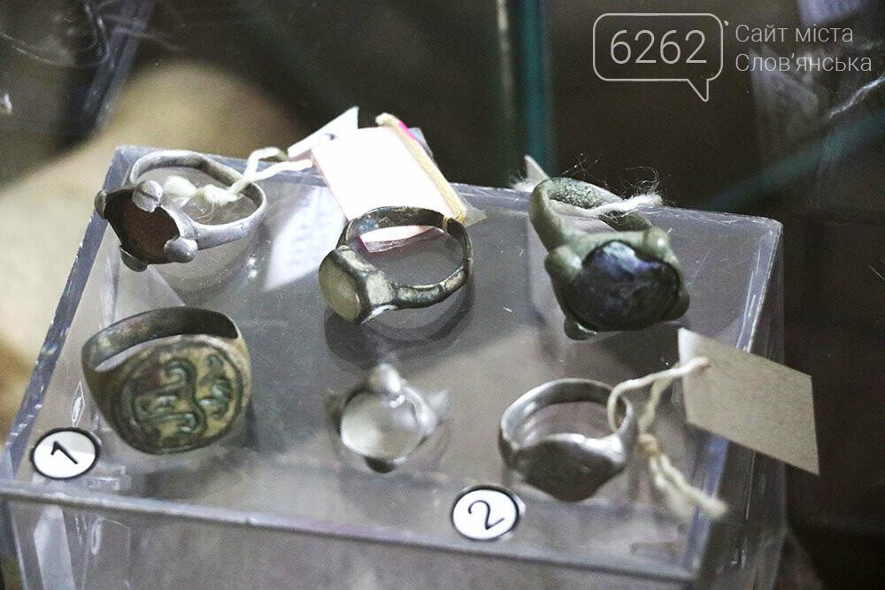 Знаряддя Палеоліту та язичницькі амулети: унікальна виставка у музеї Слов'янська, фото-19