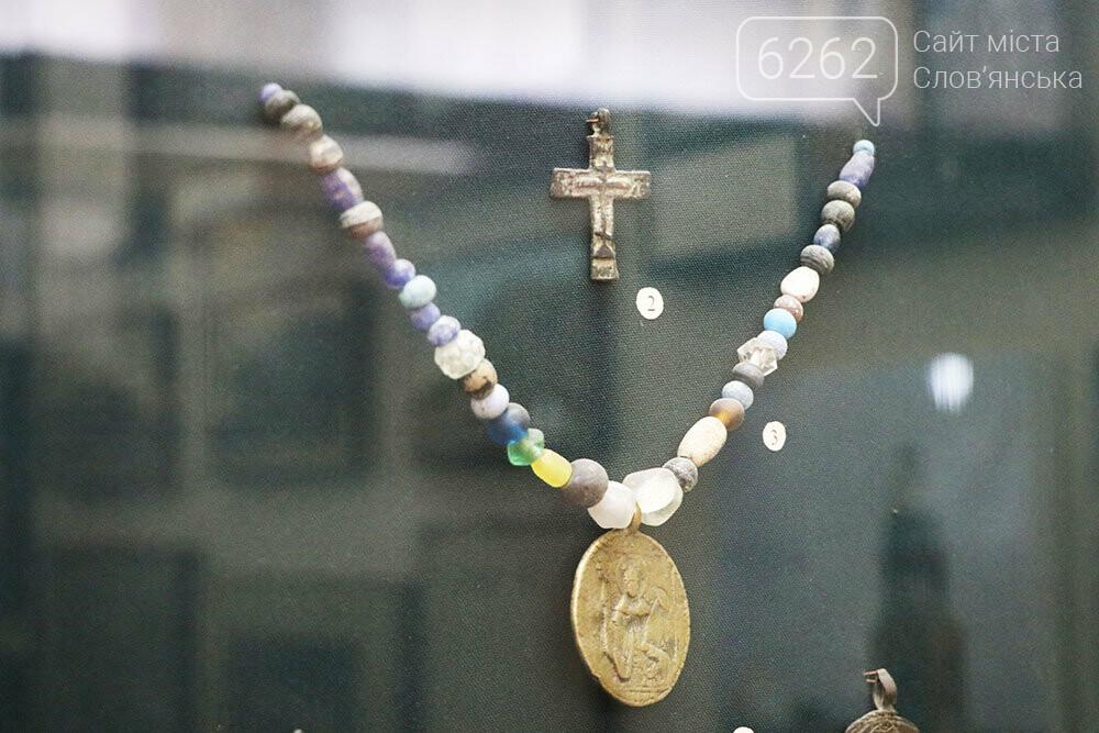Знаряддя Палеоліту та язичницькі амулети: унікальна виставка у музеї Слов'янська, фото-30