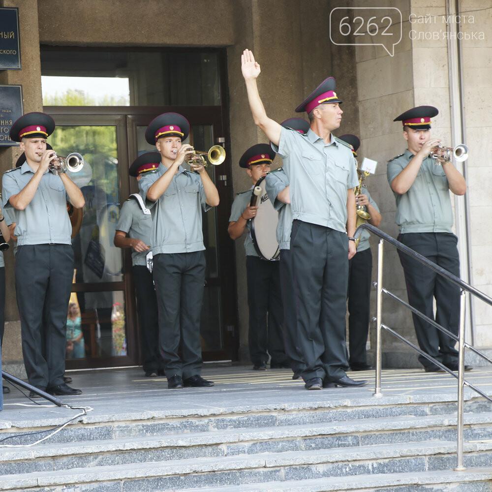 У Слов'янську урочисто підняли державний прапор України (фото), фото-8
