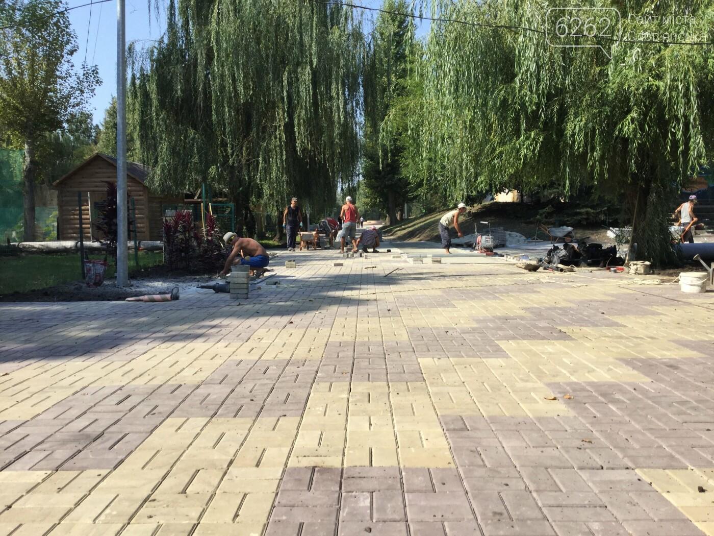 В парке Шелковичном кипит работа. Готовятся ко Дню города (фото), фото-1