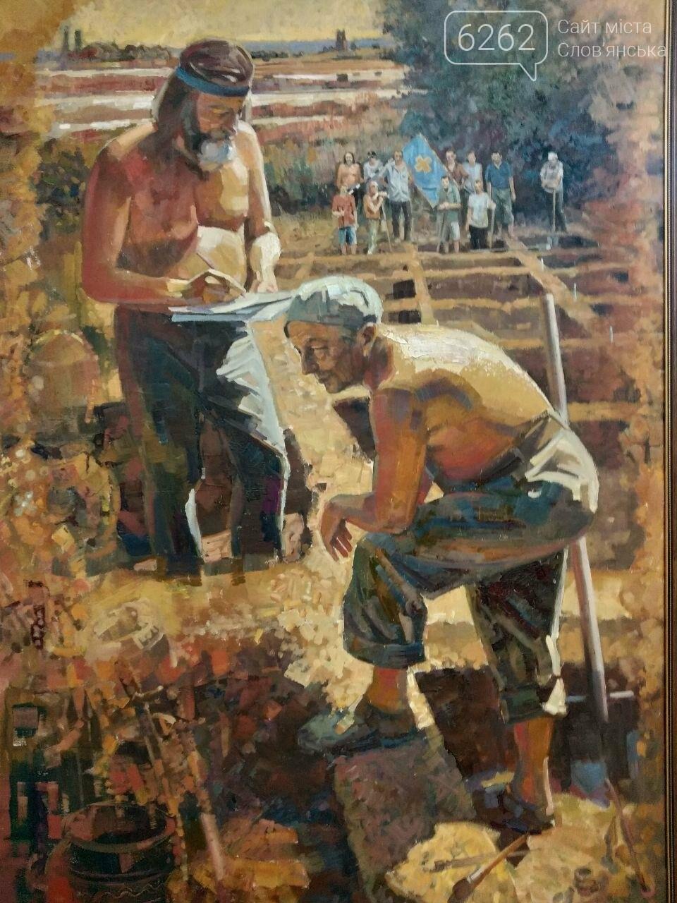 З власної колекції музею: у Слов'янську відкрилася художня виставка, фото-7