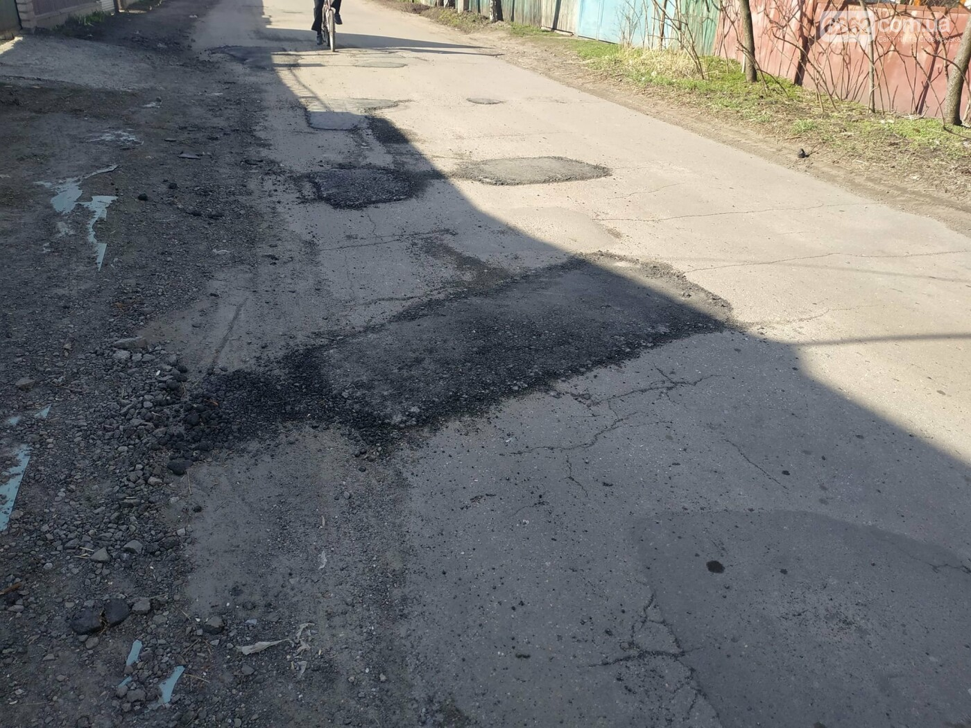 """""""Підлатана"""" дорога по Поштовій (фотофакт), фото-7"""