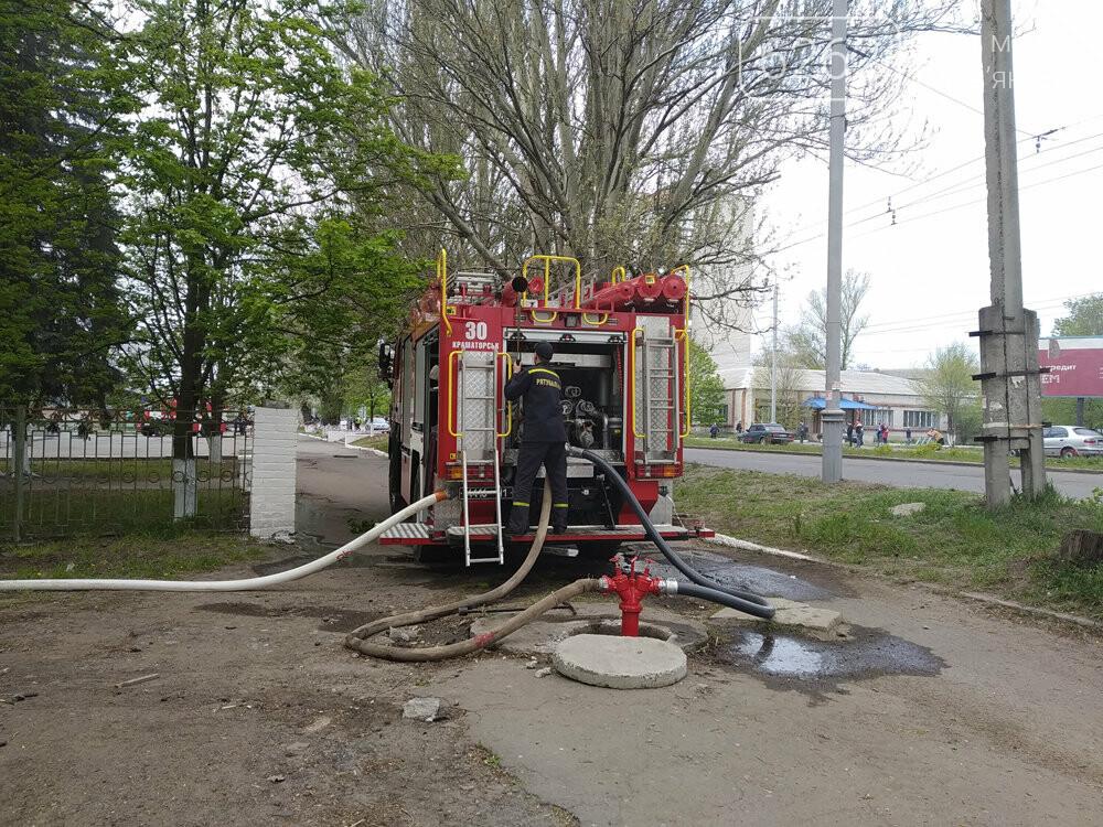 У Слов'янську горів Центр культури й довкілля - ФОТО, ВІДЕО, фото-4