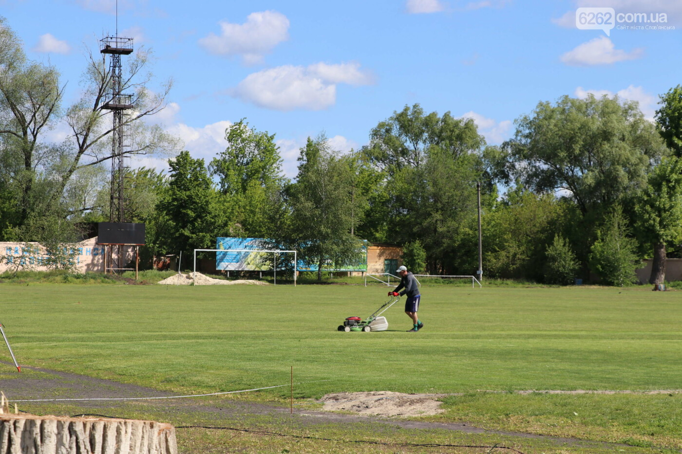 У Слов'янську реконструюють стадіон ім. Скіданова (кол. Хімік) , фото-2