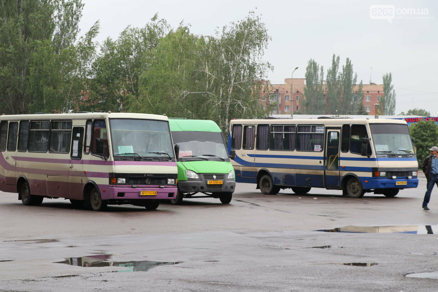 У Слов'янську запрацював автовокзал (фото,відео) , фото-2
