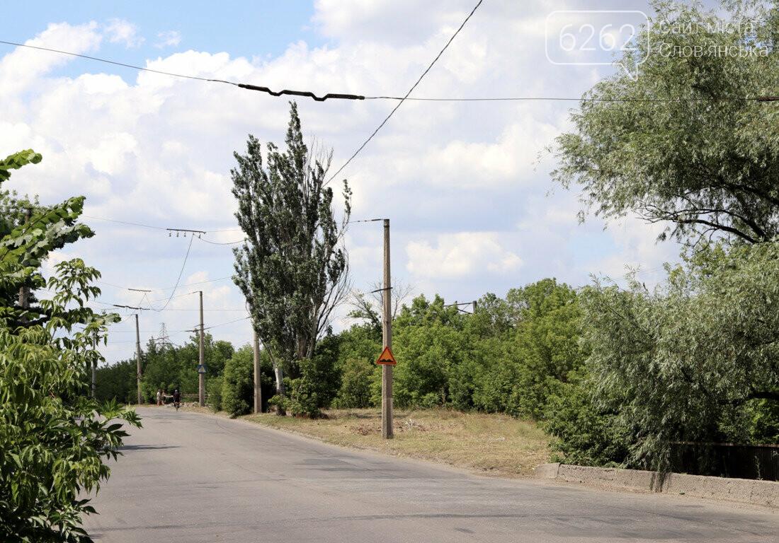 У Слов'янську розпочались роботи по відновленню тролейбусного маршруту №5 (фото) , фото-2