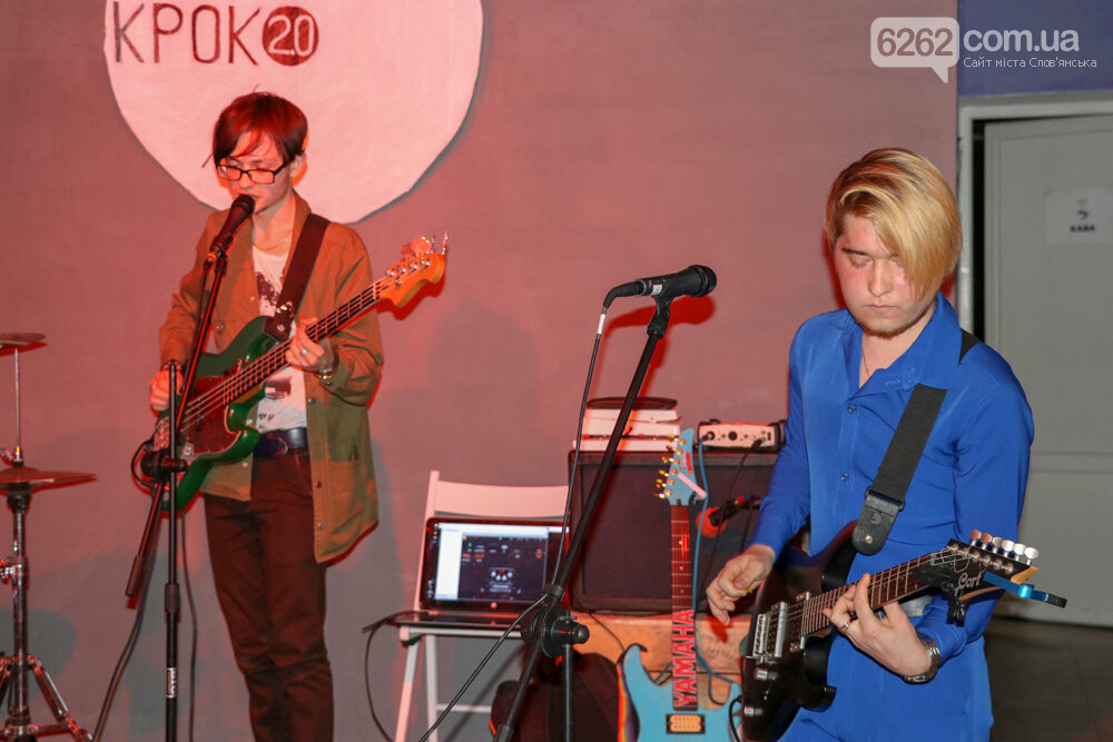 Пост-панк, балади і надрив у голосі - у Слов'янську молодь влаштувала рок-концерт, фото-7