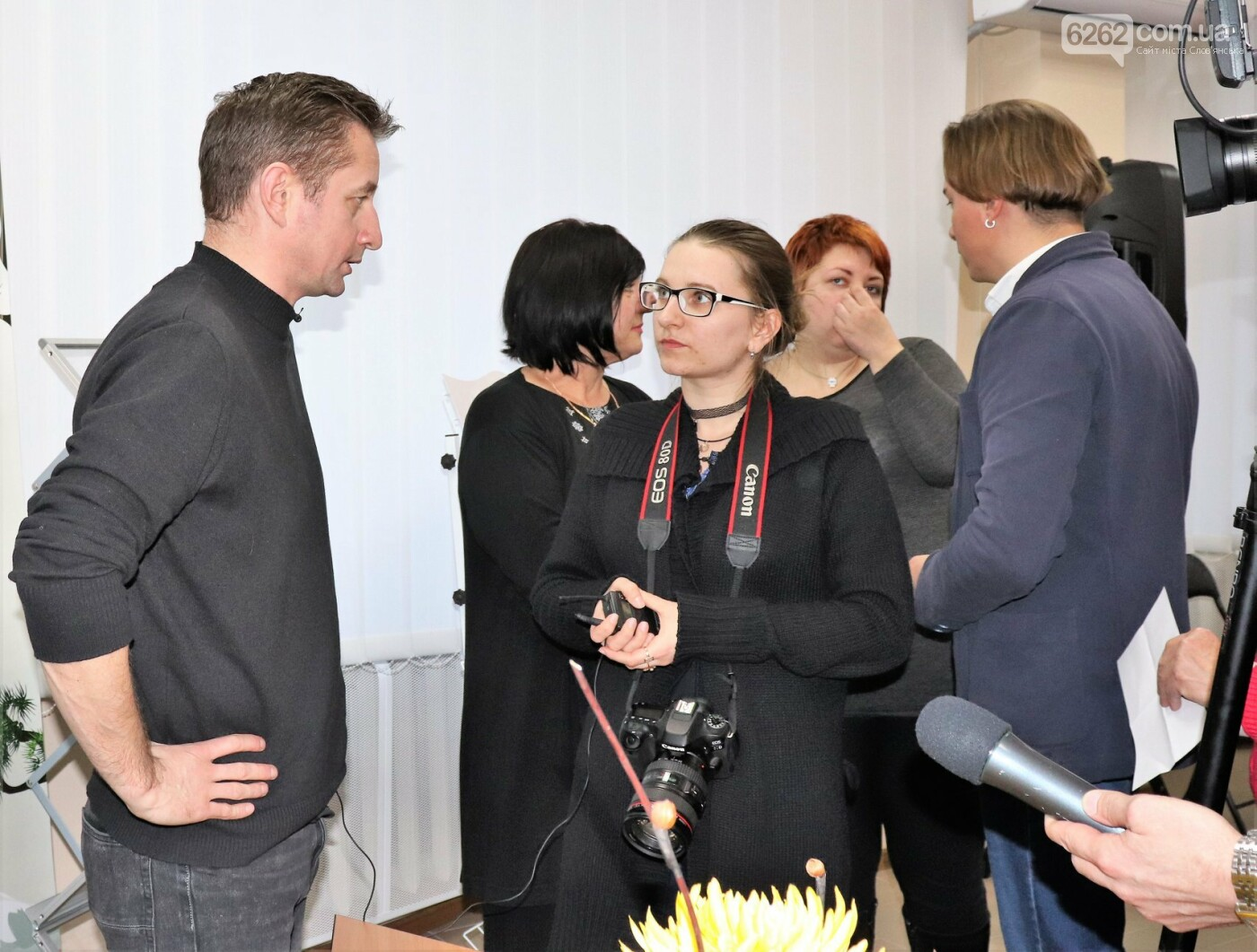 Під час інтерв'ю з Сергієм Жаданом