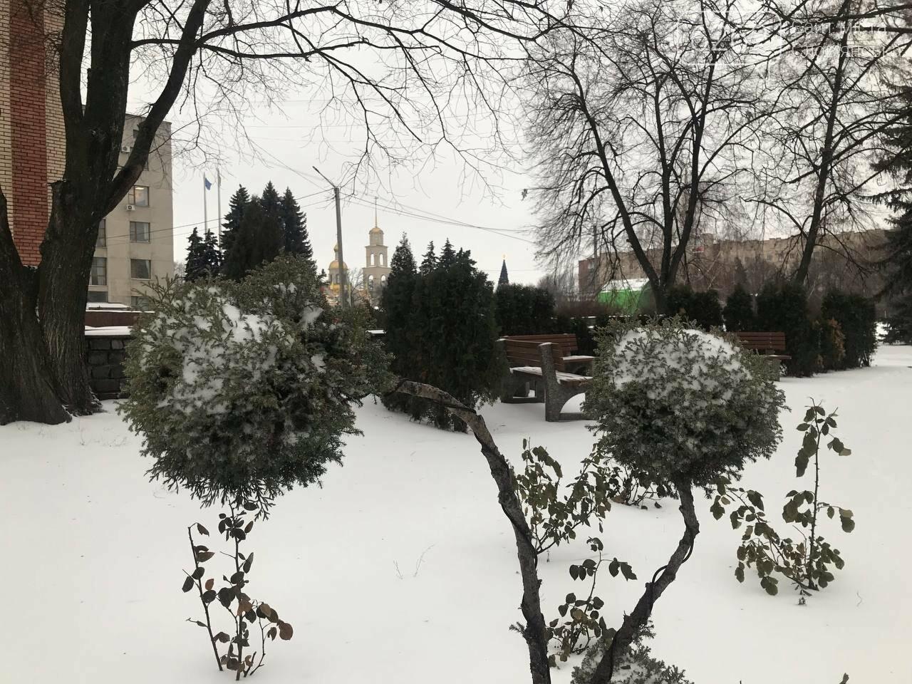 Засніжений Слов'янськ. Фоторепортаж з вулиць міста , фото-1