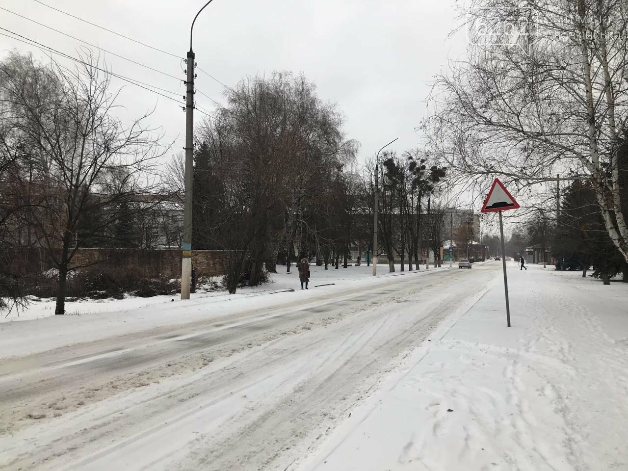 Засніжений Слов'янськ. Фоторепортаж з вулиць міста , фото-20