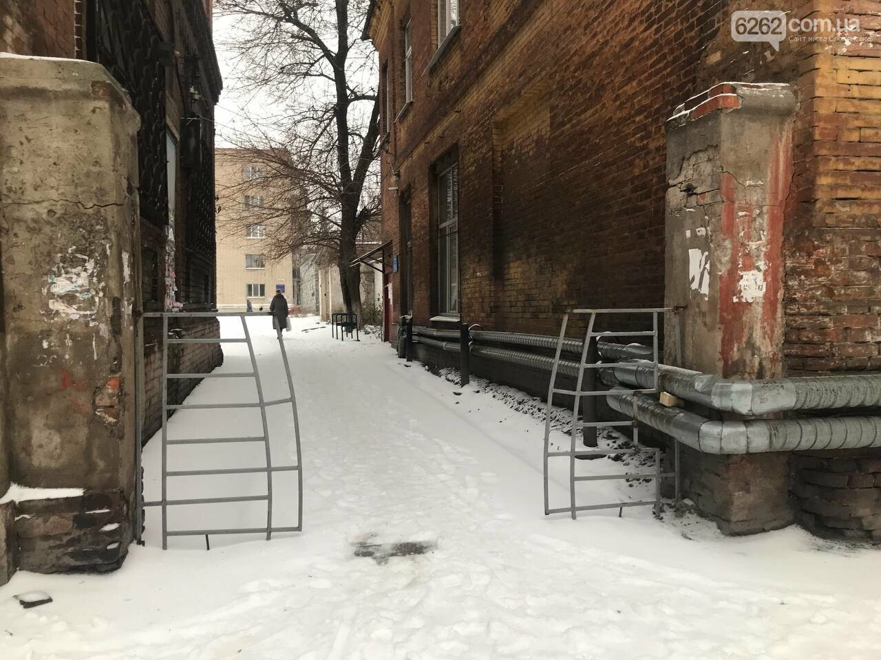 Засніжений Слов'янськ. Фоторепортаж з вулиць міста , фото-28