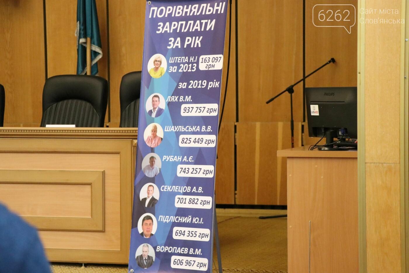 Чергова сесія Слов'янської міської ради у фотографіях , фото-8