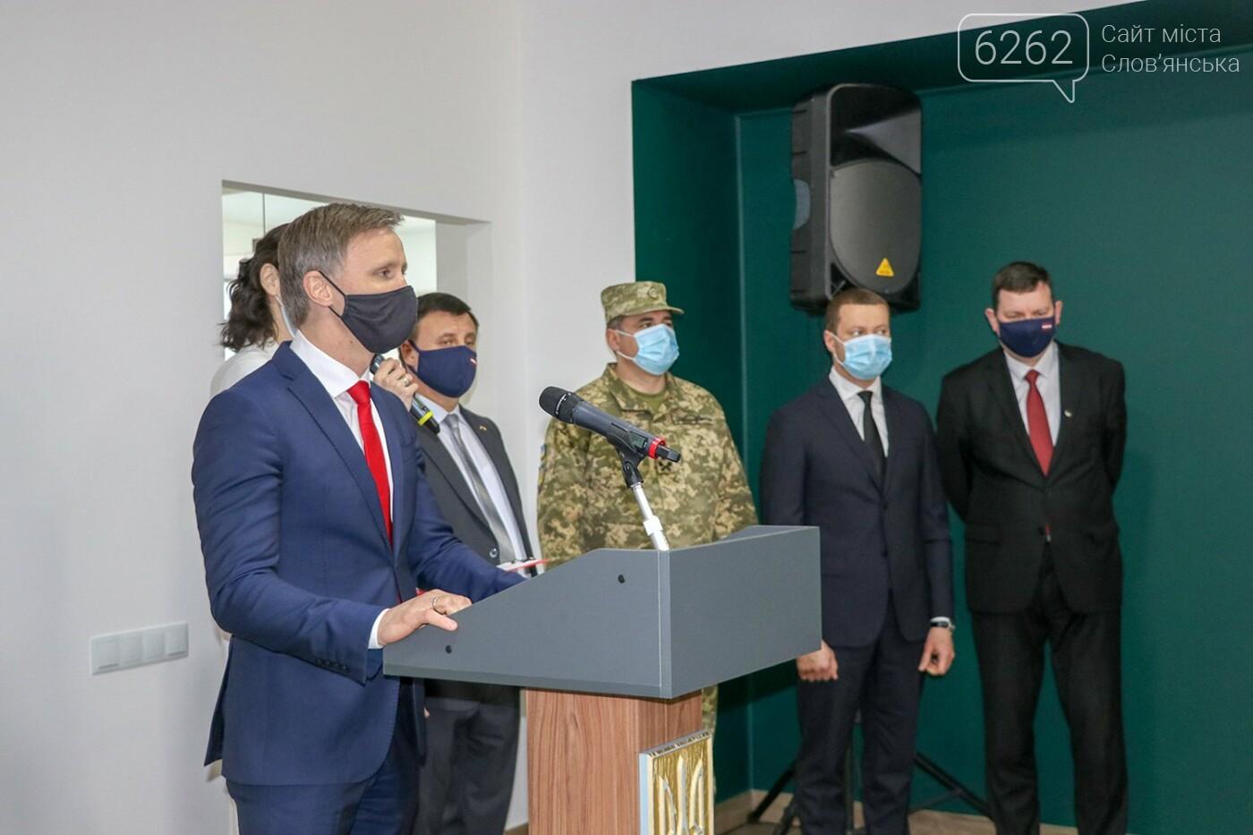 У Слов'янську відкрилося Почесне консульство Латвії, фото-1