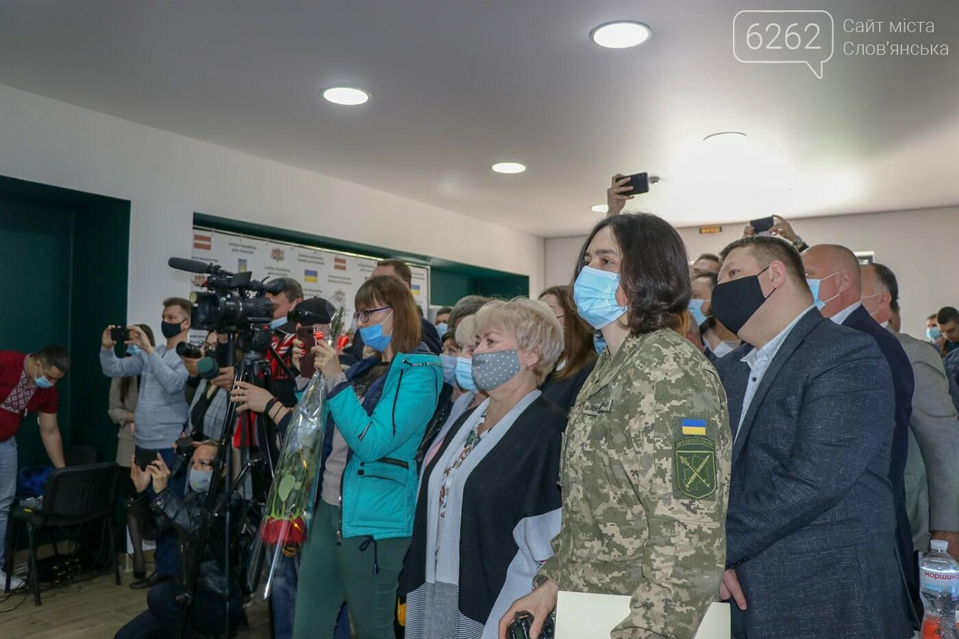 У Слов'янську відкрилося Почесне консульство Латвії, фото-2
