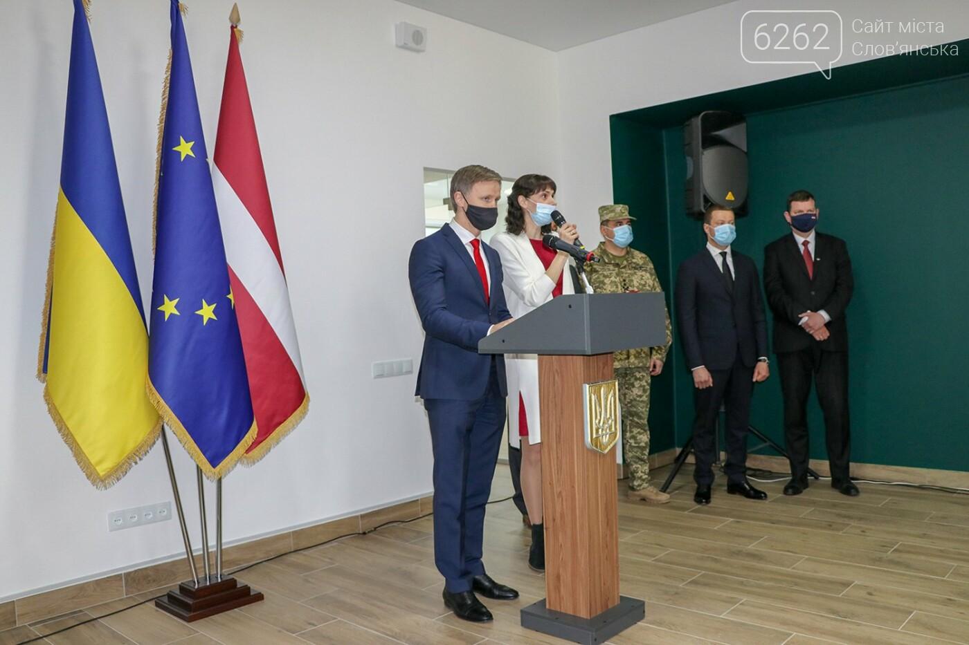 У Слов'янську відкрилося Почесне консульство Латвії, фото-3