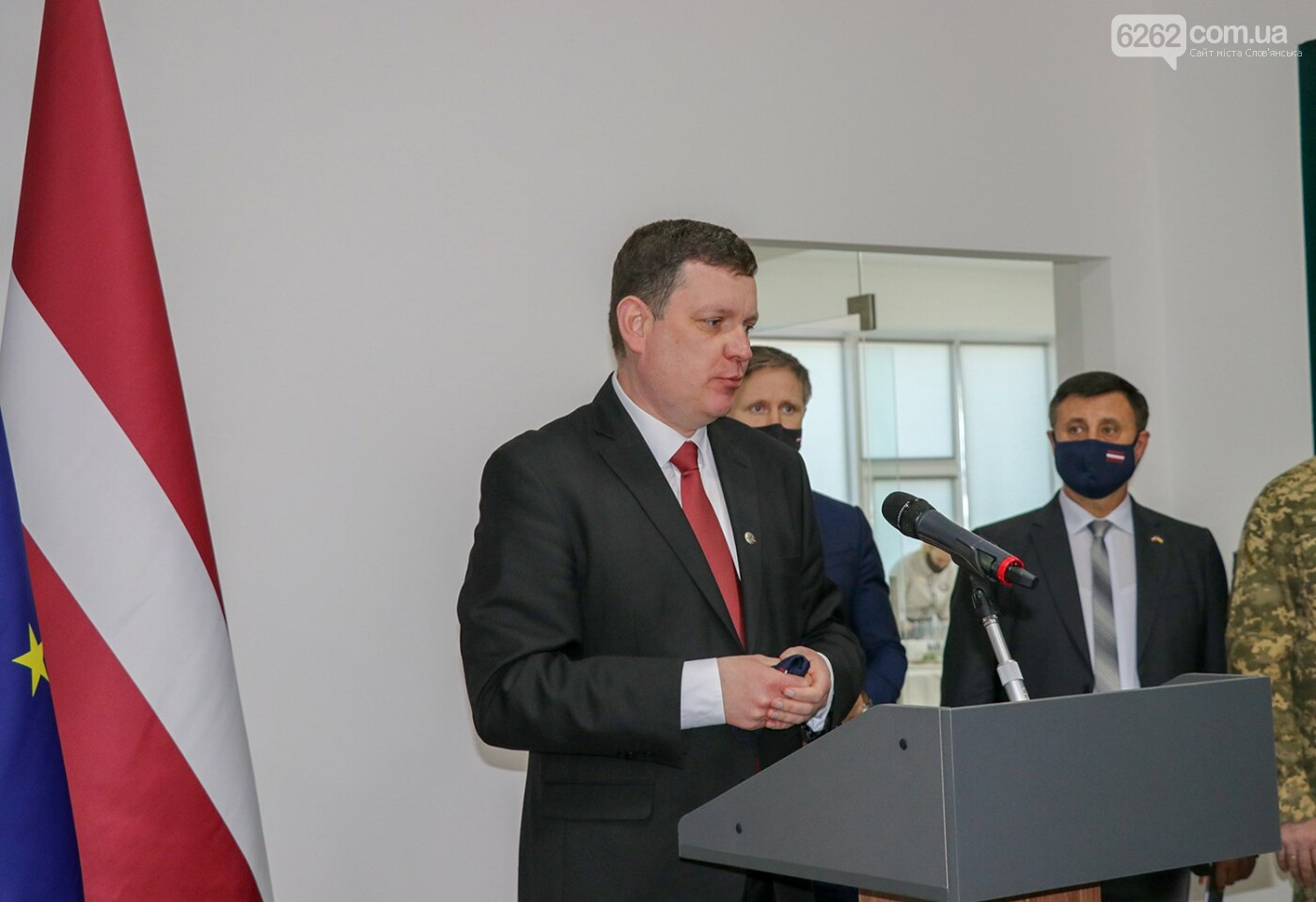 У Слов'янську відкрилося Почесне консульство Латвії, фото-6