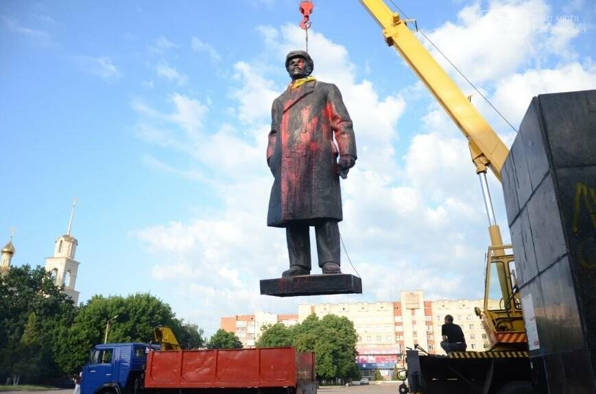 Як у Слов'янську Леніна знімали - фото, відео, фото-5