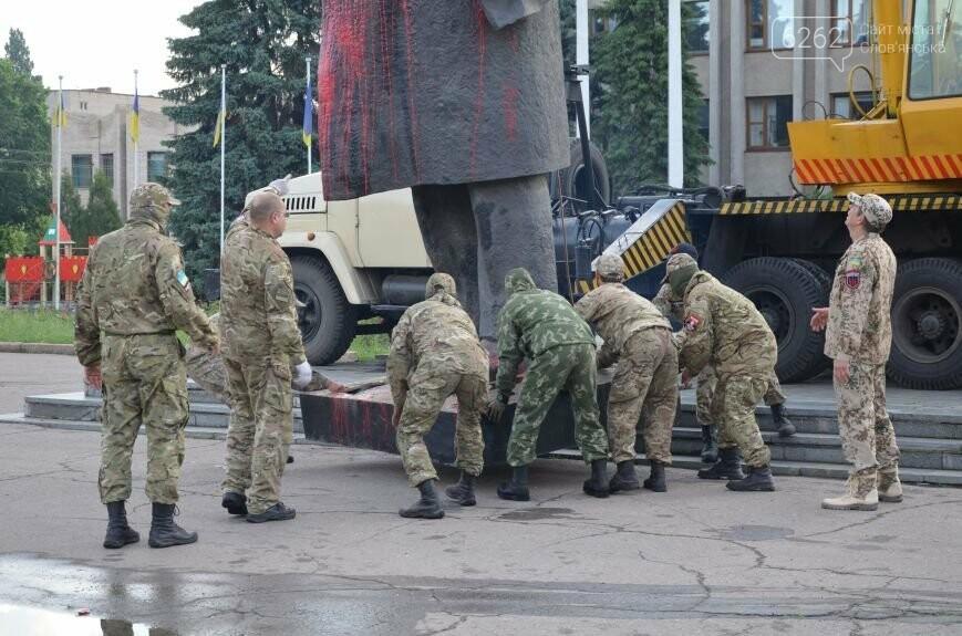 Як у Слов'янську Леніна знімали - фото, відео, фото-6