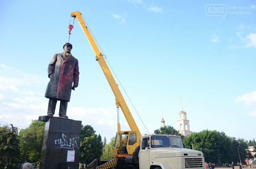 Як у Слов'янську Леніна знімали - фото, відео, фото-4