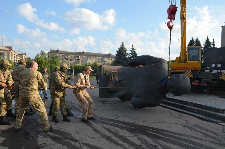 Як у Слов'янську Леніна знімали - фото, відео, фото-7