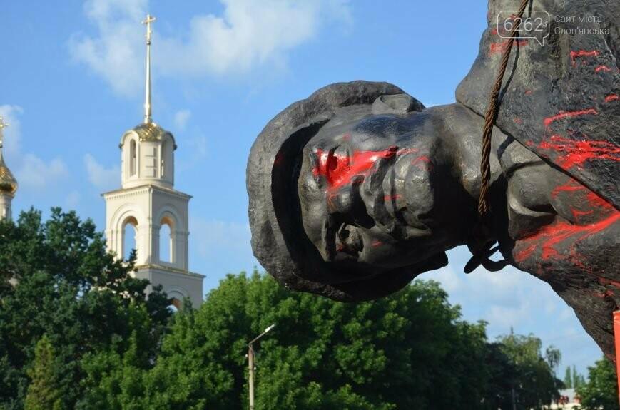 Як у Слов'янську Леніна знімали - фото, відео, фото-10