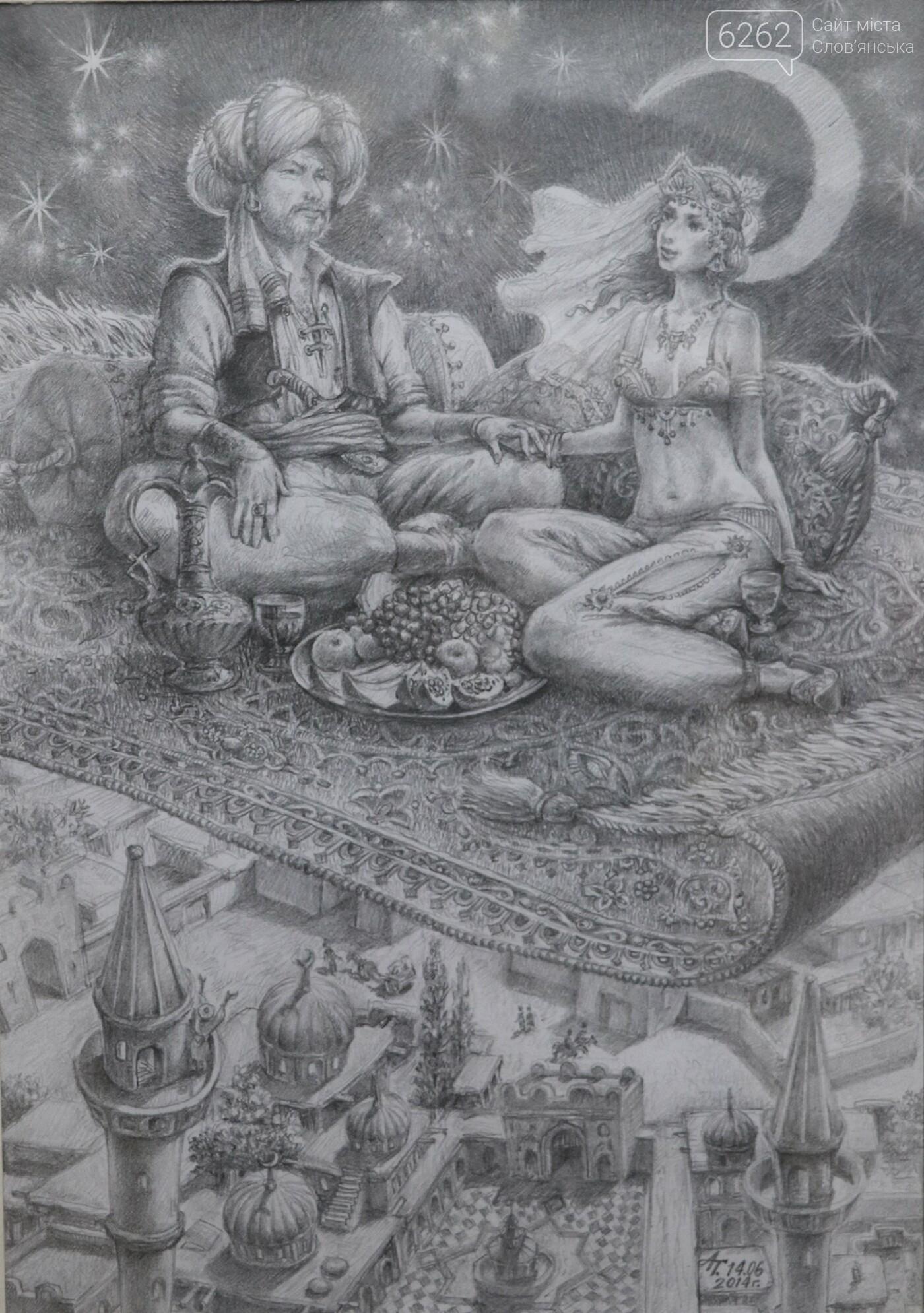 """Легенди Єгипту та казки - у музеї Слов'янська відкрилася виставка """"без олії"""", фото-10"""