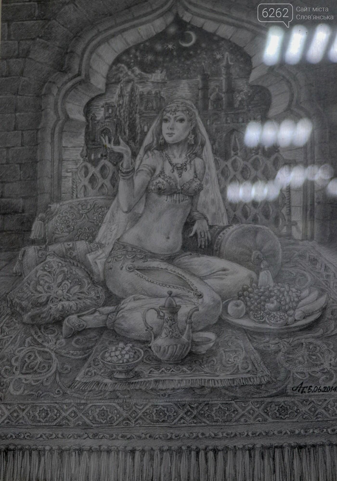 """Легенди Єгипту та казки - у музеї Слов'янська відкрилася виставка """"без олії"""", фото-11"""
