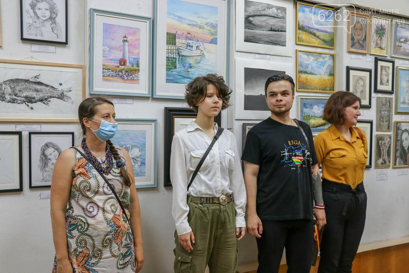 """Легенди Єгипту та казки - у музеї Слов'янська відкрилася виставка """"без олії"""", фото-5"""