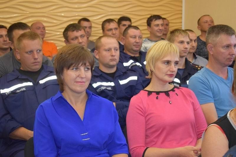 В Славянске поздравляли спасателей, фото-4