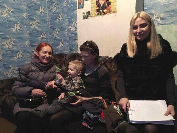 Cлужба у справах дітей відвідала сім'ї міста Слов'янська, фото-2
