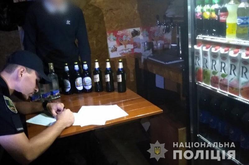 Торговые точки, в которых продавали алкоголь детям, должны заплатить больше миллиона гривен штрафа, фото-1