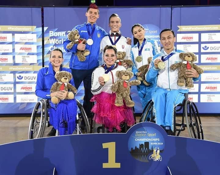 На Чемпіонаті світу зі спортивних танців на візках у Німеччині успішно виступили слов'янські спортсмени , фото-7