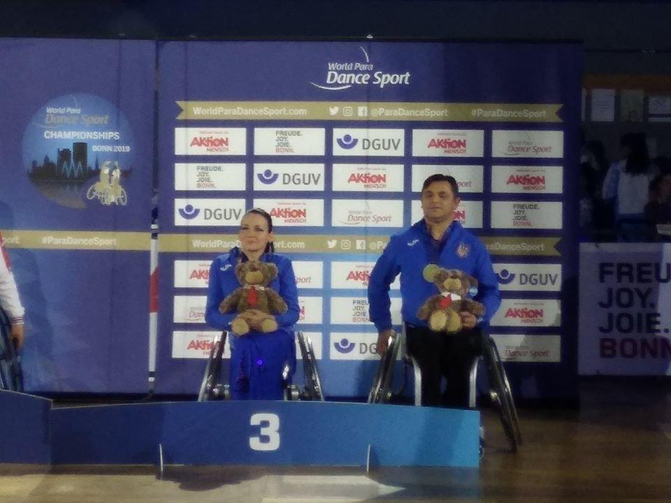 На Чемпіонаті світу зі спортивних танців на візках у Німеччині успішно виступили слов'янські спортсмени , фото-1