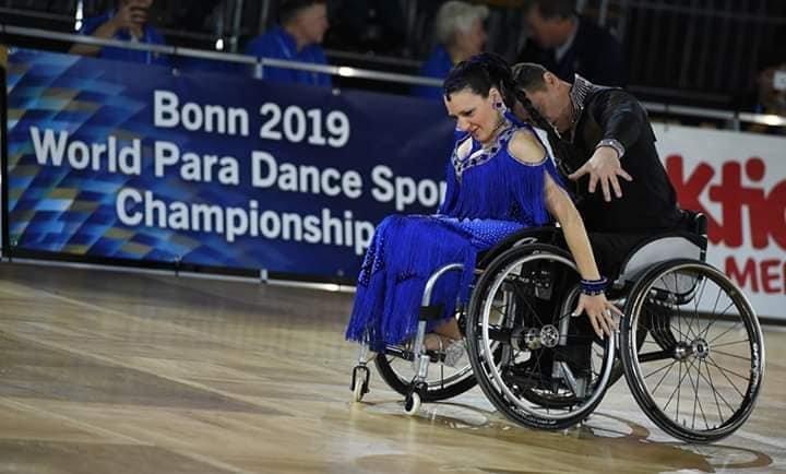 На Чемпіонаті світу зі спортивних танців на візках у Німеччині успішно виступили слов'янські спортсмени , фото-3