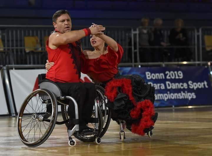 На Чемпіонаті світу зі спортивних танців на візках у Німеччині успішно виступили слов'янські спортсмени , фото-5