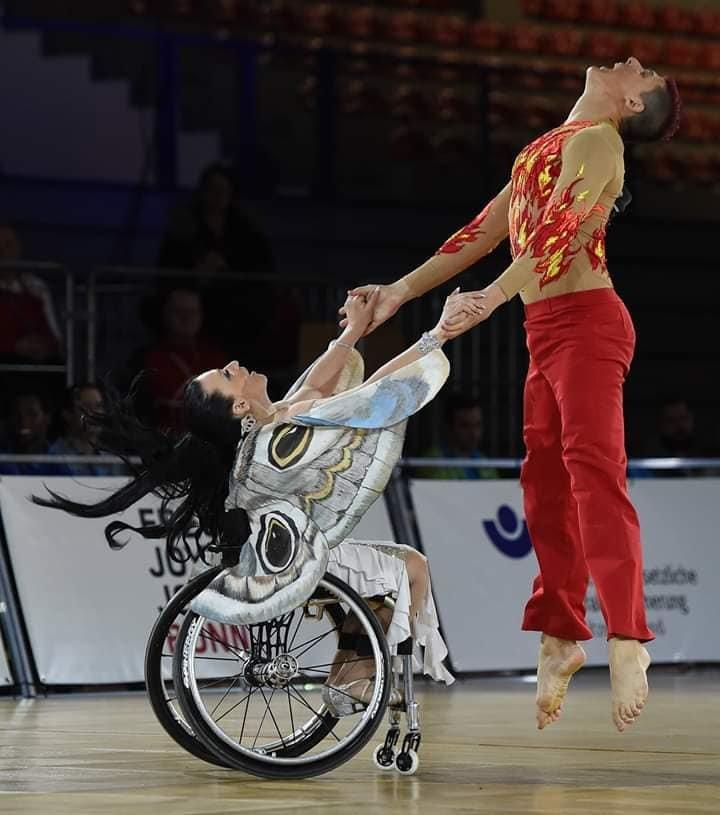 На Чемпіонаті світу зі спортивних танців на візках у Німеччині успішно виступили слов'янські спортсмени , фото-8