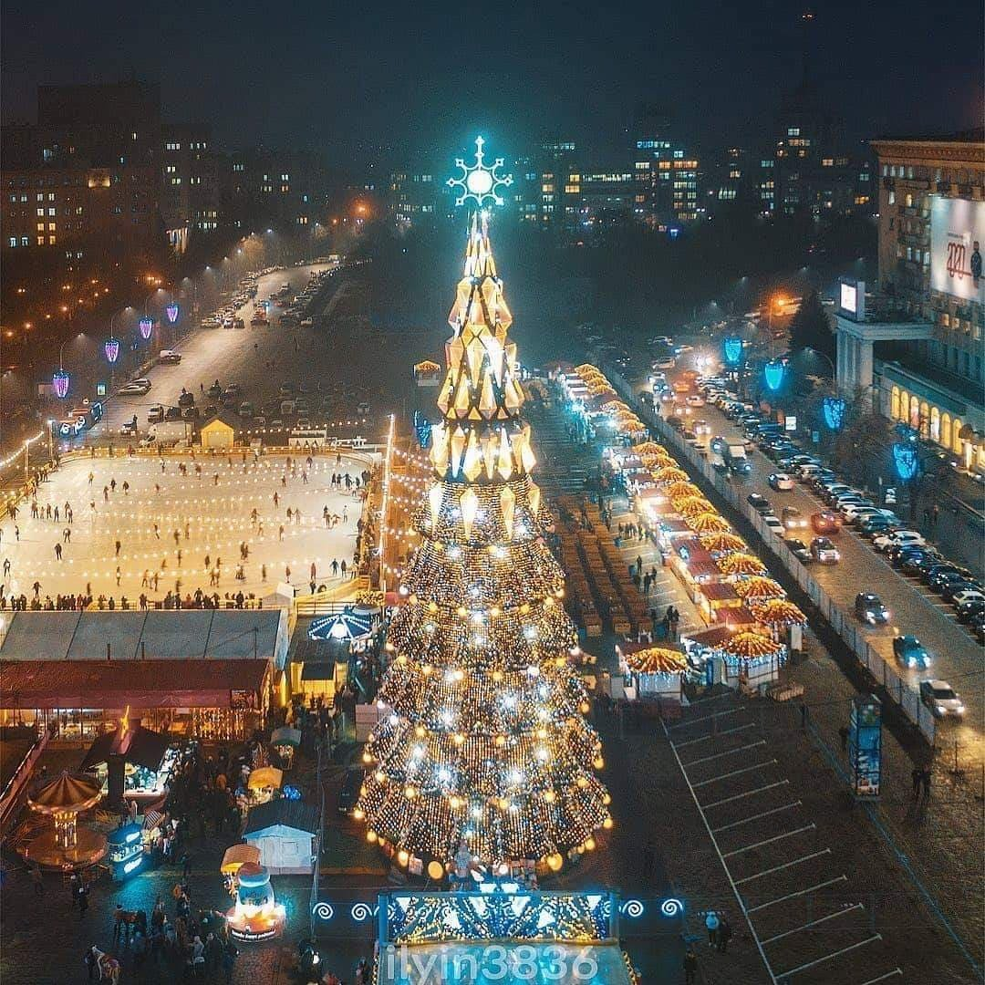Як відсвяткували Новий Рік у різних містах України, фото-2