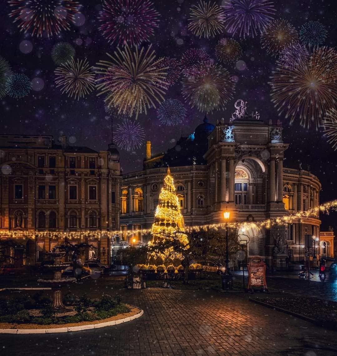 Як відсвяткували Новий Рік у різних містах України, фото-11