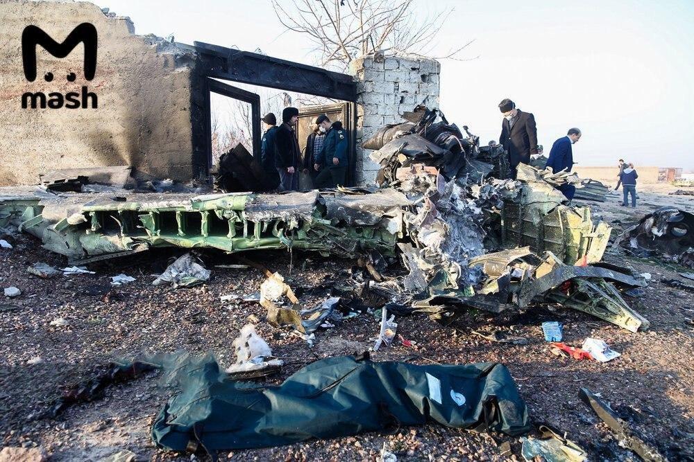 Крушение Boeing 737-800 - 176 погибших. В Украине на время прекратят перелеты в Иран, фото-1