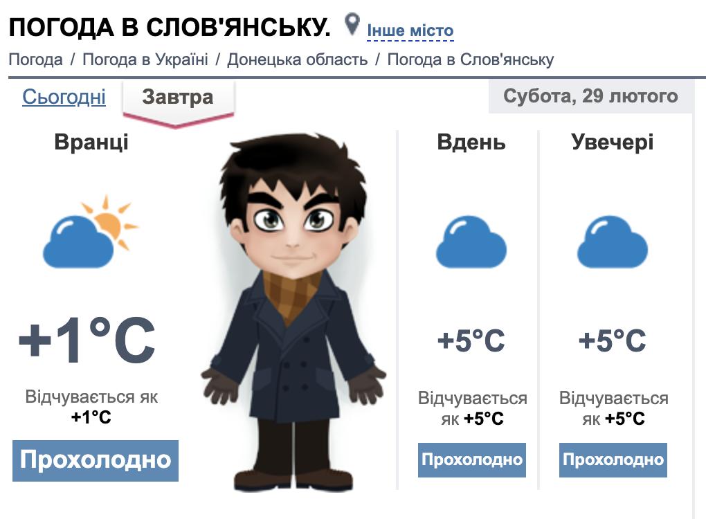 Прохолодно і без опадів. Погода у Слов'янську на вихідних, фото-3