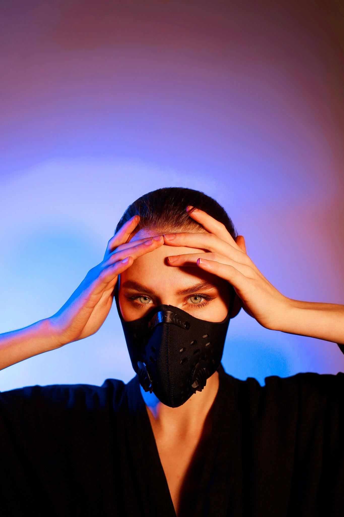 Мешканці Слов'янська у масках. Фото з соцмереж, фото-3