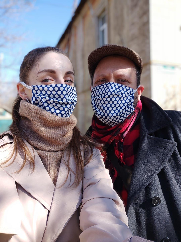 Мешканці Слов'янська у масках. Фото з соцмереж, фото-8